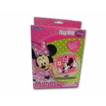 Pelota Inflable De Minnie Con Cascabeles Disney Vulcanita