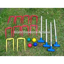Croquet Total 4 Martillos. Juego Croquet. Serabot.