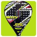 Paleta Padel Steel Custom Black Air Nucleo Foam Funda Paddle