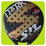 Paleta Padel Steel Custom Dark Nucleo Eva + Protector Paddle