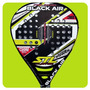 Paleta Padel Steel Custom Black Air Nucleo Foam Funda Paddle