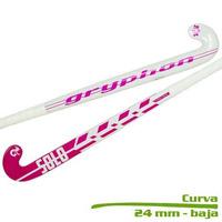 Palo De Hockey Gryphon Fibra De Vidrio +kevlar 37,5 Solo Pro