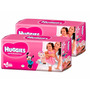 2 Superpack Pañales Huggies Princesas Active Sec Xxg