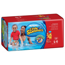 Pañales Huggies Little Swimmers Large X 10