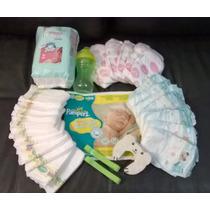 Pañales Recien Nacido + Seguridad Pampers Huggies Munchkin