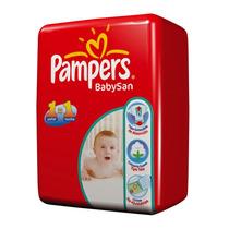 Pañales Pampers Babysan Supersec Pequeños C/ Envio Gratis