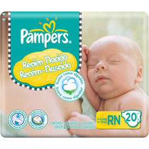 Pañales Pampers New Baby (80 Pañales Rn) (2 - 4.5kg)
