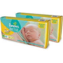 Pampers Recien Nacido Pack X 40 - Extra Suave