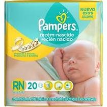Pañales Pampers Recien Nacido X 20 Unid. (extra Suave)