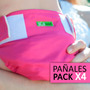 Pañal Ecológico Ecolara - Pack X 4