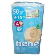 Pañales Nene Premium Talle 4 (9-15kg.) 50 U. Punto Bebé