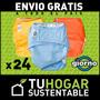 Pack X 24 Pañales Ecológicos De Tela Giorno Pañal
