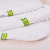 Absorbentes Para Pañales De Tela Ecológicos Ecolara Pack X4