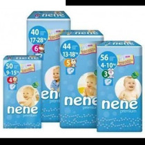 Pañales Nene Premium Talles 3, 4, 5 Y 6