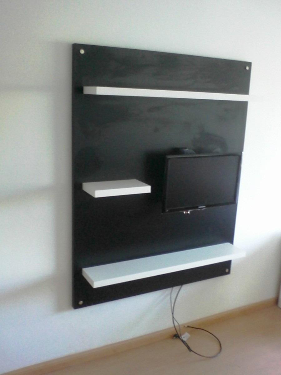 Bibliotecas Panel Para Led Lcd Modular Rack Mueble Organizador Modu