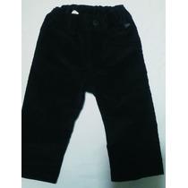 Pantalon Bebe Corderoy Negro Mini Mimo (nena)