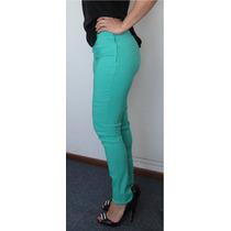 Pantalon Mujer Chupin Elastizado Ropa Vestir Remera Blusa