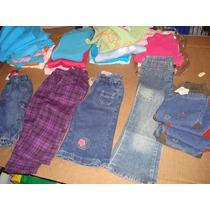 Pantalon,capris,jean,algodon Nena Niña Bebe Lote 36 Prendas