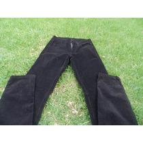 Pantalon Corderoy Negro Como Quieres Que Te Quiera- T16