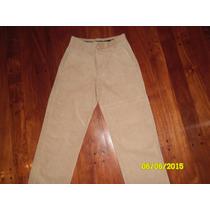 Pantalon De Corderoy Hombre - Talle S