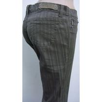 Ossira Pantalon T38 Elastizado Marron Y Verde (ana.mar)