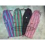 Pantalón Bali, Rayado, Artesanal, Multicolor, Para Niños/as