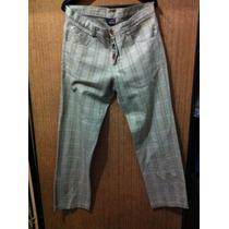 Pantalón De Hombre Vans Cuadrillé Talle 44 O 46 Zapatillas