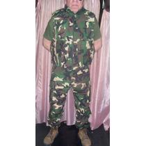 Pantalon Militares Camuflados De Gabardina Y Rebbstop