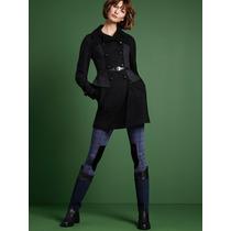 Victoria`s Secret Legging Azul / Negro Talle S