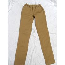 Pantalón De Mujer Semielastizado Nuevo Talle S