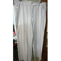 Pantalón Talle 54-contorno Cintura Mide 111cm.-abajo Medidas