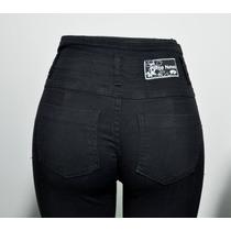 Pantalones De Jean Elastizado Con Faja Porto Novo T 36 Al 50