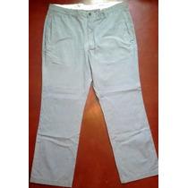 Pantalon Gap Khaki A Rayas Casual O Vestir W38