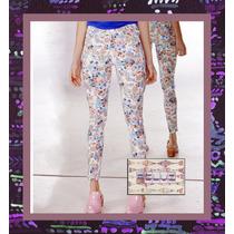 Pantalones Estampados Flores