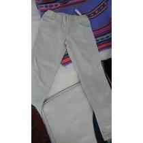 Pantalon Beigevcrderoy T6 Nuevo