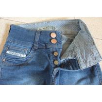 Jeans Elastizado Cenitho Chupin Con Botamanga