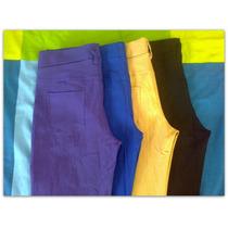 Leggins Chupín Tipo Jean-algodón Y Lycra Pantalon Calza