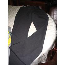 Pantalon Espectacular Tiro Medio Botamanga Octano Negro L