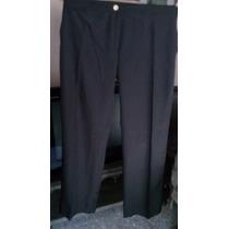 Pantalón De Mujer Negro Nuevo .talle 44.