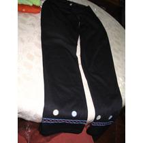 Pantalon Calza Leggins Jersey Negra Fora Deserie Recto T 2