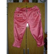 Pantalon Capri De Raso Para Nena Talle 10