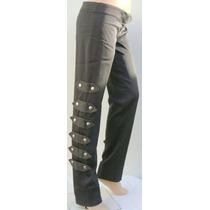 Rosh Pantalon Vestir T3 Elastizado Gris Con Tachas (ana.mar)