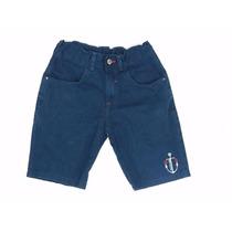 Divina Bermuda Nene Zara Kids-azul Marino-talle 7-8-impecabl