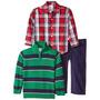 Set Conjunto Importado Camisa Sweter Y Pantalón Niño