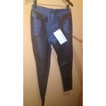 Pantalon Jean ,cuero Oveja De La Ostia.