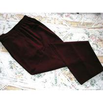 Pantalon, T: 3 / 4, Color Bordo, Excelente!! Mira!!