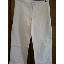 Pantalon Mujer Sybilla Talle M De Cintura 38cm, Finísimo