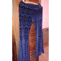 Pantalon Oxford Azul De Plush Fiesta
