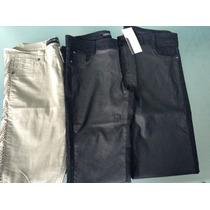 Lote De 3 Pantalones Mujer, Ideal Feria Americana