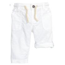 Pantalon De Lino | H&m Para Chicos | Desde 9 Meses A 3 Años